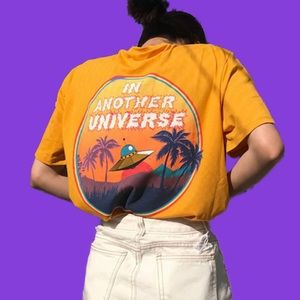"""""""in Another Universe"""" Graphic Tee"""